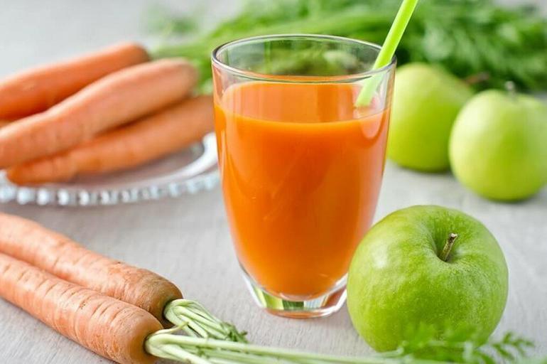 Яблочно-морковный